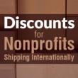 Discounts for Nonprofits Shipping Internationally