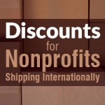 Discounts for Nonprofits Shipping Internationally