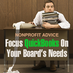 Quickbooks nonprofit advice