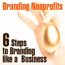 Branding Nonprofits:   Six Steps to Branding like a Business