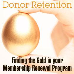 donor retention advice