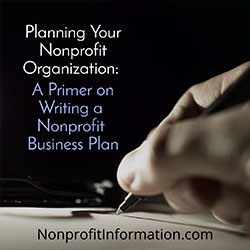 How To Write A Nonprofit Business Plan Expert Advice - Business plan template non profit organization