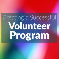 create volunteer program