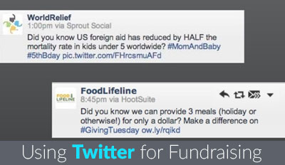 Fundraising Through Twitter