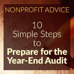 10 Simple Steps to Prepare for the Year-End Audit