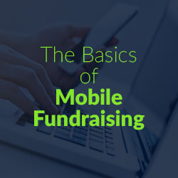 Learn about mobile fundraising