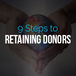 retaining donors - fundraising advice