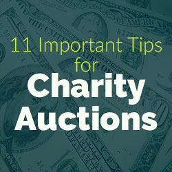 Charity Auction Tips