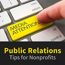 Public Relations Tips for Nonprofits