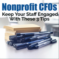 Nonprofit CFO Advice - Tips for Running a Nonprofit
