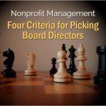 Criteria for Picking Board Directors