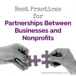 Best Practices for Partnerships Between Businesses and Nonprofits