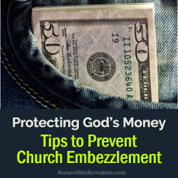 Embezzlement Church