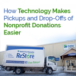 How Technology Makes Pickups and Drop-Offs of Nonprofit Donations Easier