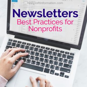 Best Nonprofit Newsletters