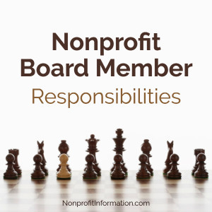 Nonprofit Board Responsibilities
