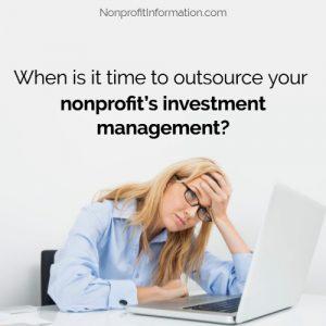 Nonprofit Fundraising Investment Management