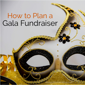 how to plan a fundraiser