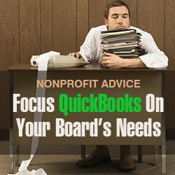 Quickbooks nonprofit advice