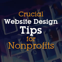 website design tips for nonprofits