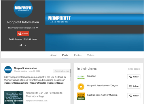 How Your Nonprofit Can Gain Exposure with Google+