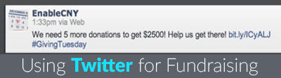 How to use Twitter to Fundraise - Fundraising Tips