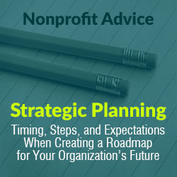 Nonprofit Strategic Planning Advice