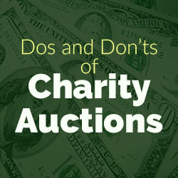 Dos and Don'ts of Charity Auctions