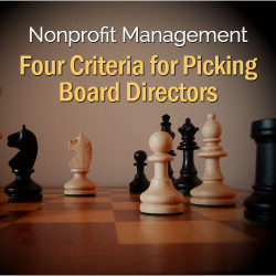 Criteria for Picking Board Directors