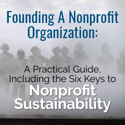 Founding a Nonprofit Organization