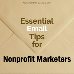 Nonprofit Email Tips