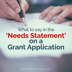 Nonprofit Grant Writing Tips