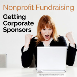 how to get sponsors for nonprofit