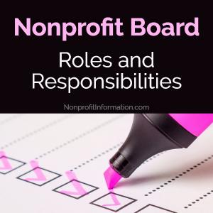 Nonprofit Board Roles