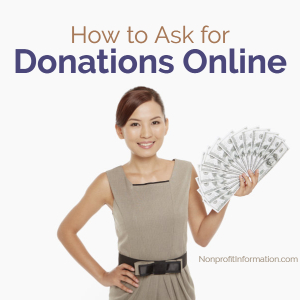 How to Ask for a Donation Online