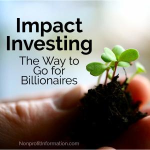 philanthropic billionaires