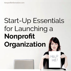 Start Up Nonprofits