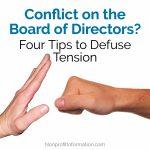 Nonprofit Board Conflict Resolution