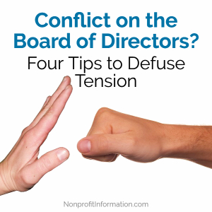 Nonprofit Board Conflict Resolution