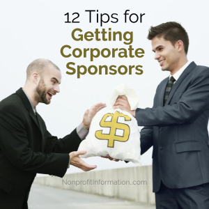 Getting Corporate Sonsors