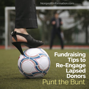 Fundraising Re-Engage Lapse Donors