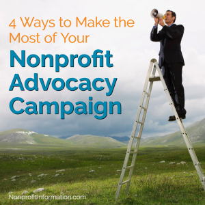 Nonprofit Advocacy Tips