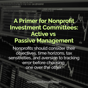 Nonprofit Investments