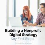 Nonprofit Digital Strategy