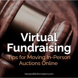 Virtual Fundraising Auctions