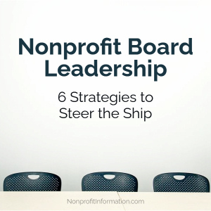 Nonprofit Board Leadership