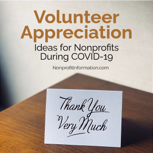 Volunteer Appreciation Ideas