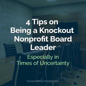 Nonprofit Board Leader