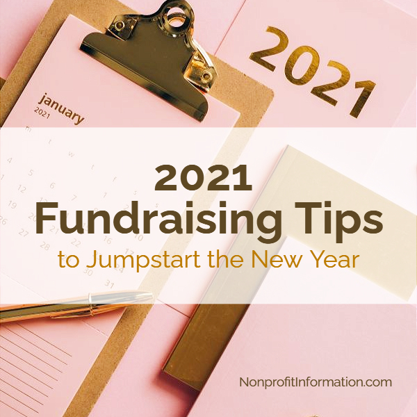 2021 Fundraising Tips
