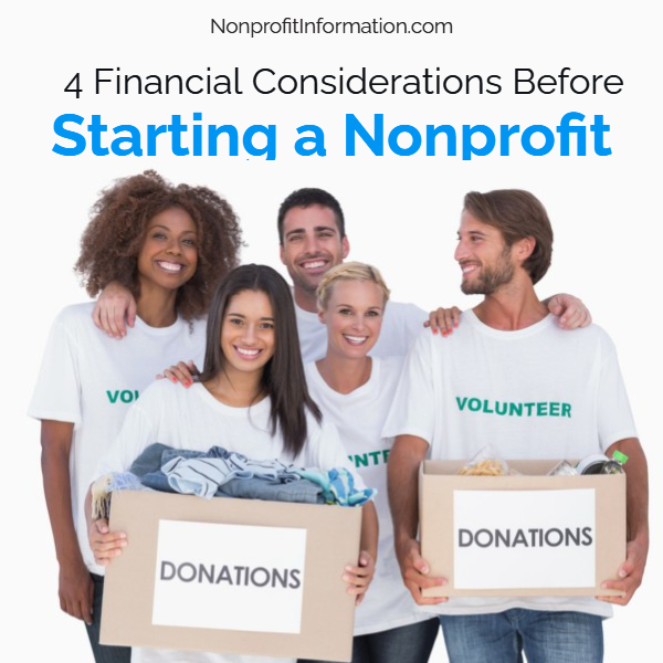 Financial Considerations Before Starting a Nonprofit